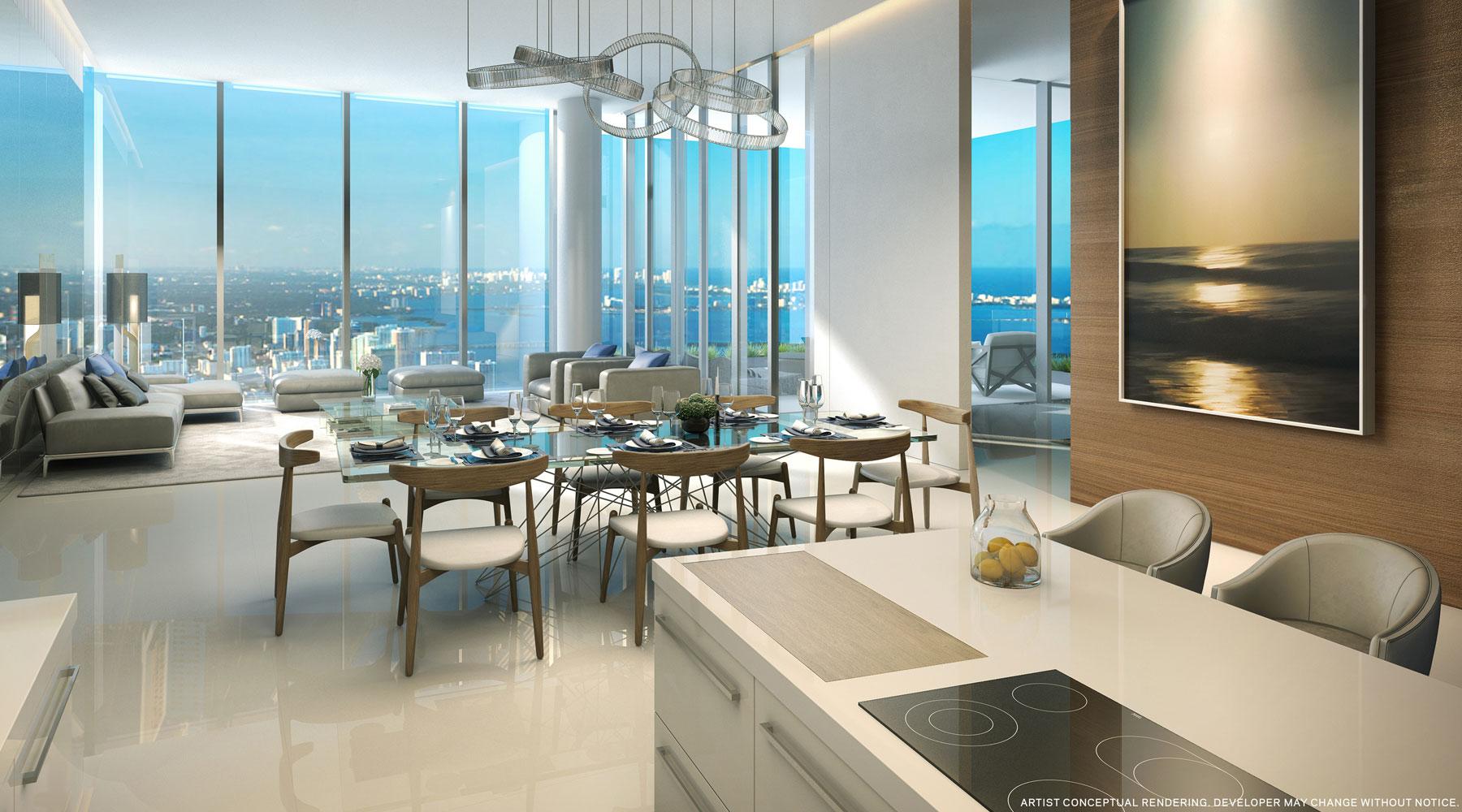500 Brickell Floor Plans Paramount Miami Worldcenter Condos For Sale In Miami Fl